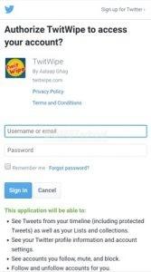 Cara Menghapus Semua Tweet di Twitter